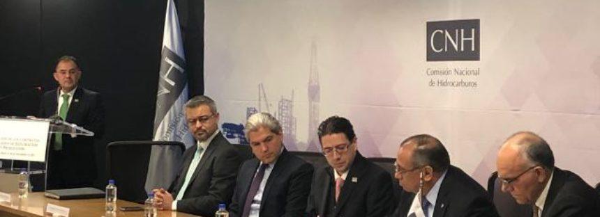 Pemex, Petrofac y CNH firman la primera migración de un contrato de exploración y producción en México