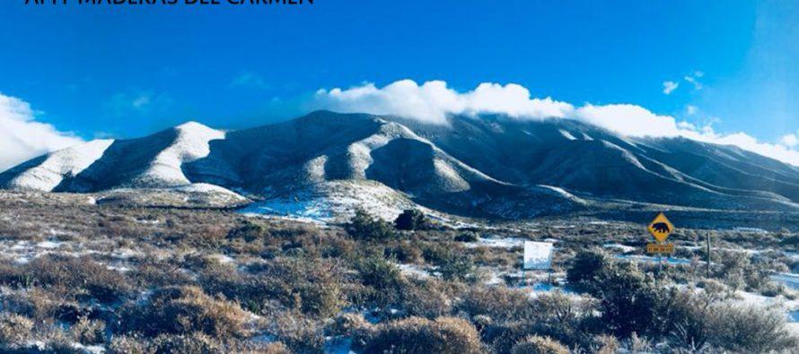 Avanza diciembre y se presentan primeras nevadas dentro de las Áreas Naturales Protegidas de México