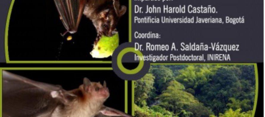 INIRENA: seminario Redes de Interacción entre murciélagos frugívoros y plantas quiropterocoras en un paisaje rural cafetero