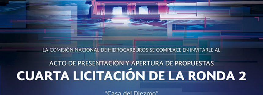 Acto de presentación y apertura de propuestas cuarta licitación de la ronda 2
