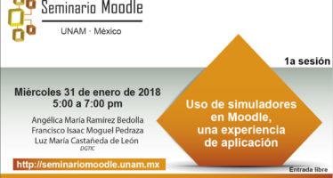 Seminario: Uso de simuladores en Moodle, una experiencia de aplicación