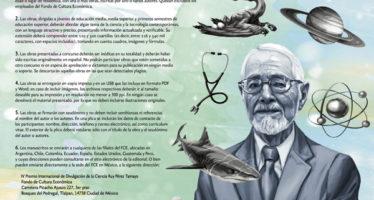 IV Premio Internacional de Divulgación de la Ciencia Ruy Pérez Tamayo