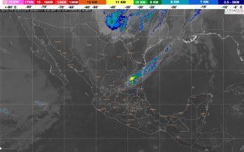 Viento del norte en el Golfo de México y bajas temperaturas, vientos fuertes y tolvaneras en norte y noreste del país