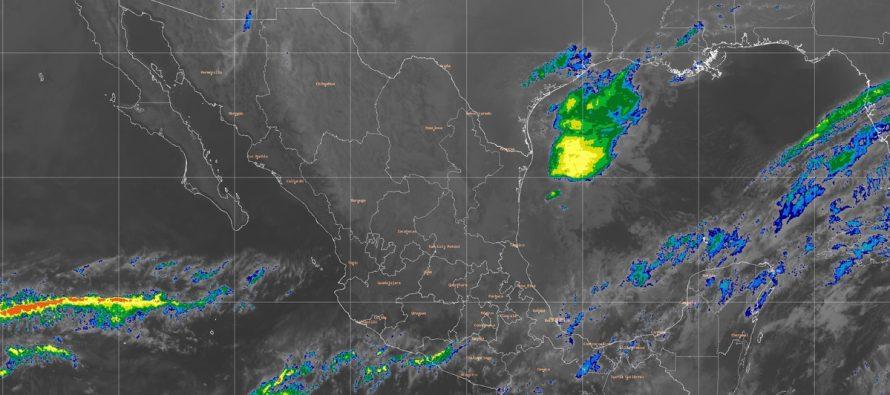 Ambiente gélido y heladas en la Mesa del Norte y Mesa del Centro; tormentas en Puebla y Veracruz