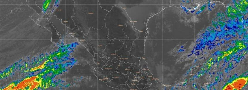 Bajas temperatura, vientos fuertes y nevadas o aguanieve en el noroeste y  norte de México