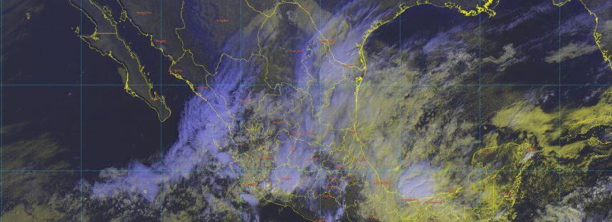 Tormentas torrenciales en Veracruz y e intensas en Oaxaca, Chiapas y Tabasco: llueve en Michoacán