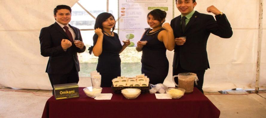 Estudiantes de Ingeniería Bioquímica del IPN crean el suplemento proteínico Omikami