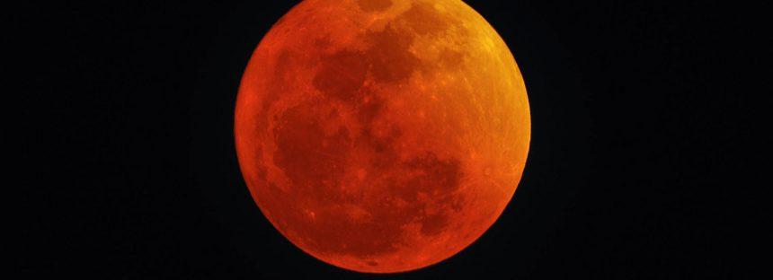 Espectáculo terrestre con una superluna, luna azul y eclipse de luna este 31 de enero de 2018