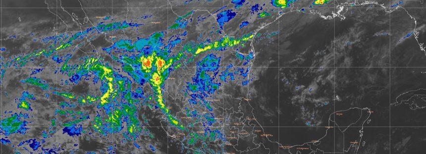 Hoy se prevén lluvias intensas y granizadas en Veracruz, Hidalgo y Puebla
