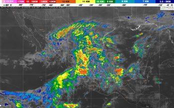 Hoy se prevé lluvia fuerte en localidades de Veracruz y Chiapas
