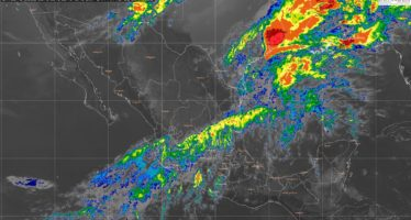 En regiones de Veracruz, Durango, Zacatecas, Jalisco y Michoacán se prevé lluvia fuerte y posible granizo