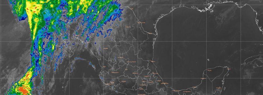 Para Baja California, Baja California Sur, Sonora y Chihuahua se pronostican lluvias con intervalos de chubascos