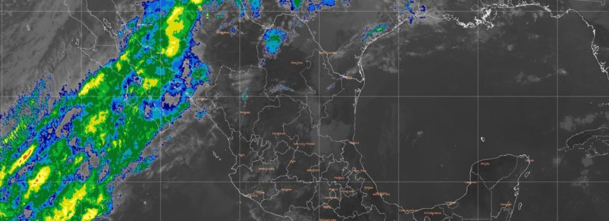Se pronostican lluvias muy fuertes para Chihuahua y fuertes para Baja California, Sonora, Durango y Sinaloa