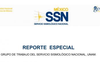 Reporte especial del sismo M 7.2 de esta tarde con epicentro en Pinotepa Nacional, Oax