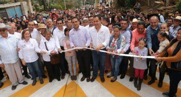 Entrega Gobernador obras por más de 21 mdp en Zitácuaro