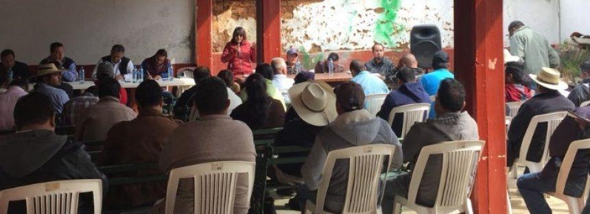 Gobierno del Estado brinda apoyo integral al campo en zonas indígenas