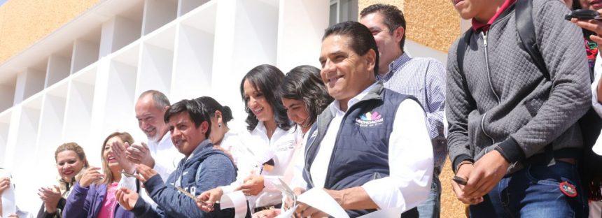 Inaugura Gobernador obras por más de 41 mdp en Hidalgo