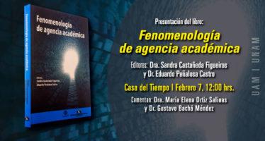 Presentación del libro: Fenomenología de agencia académica