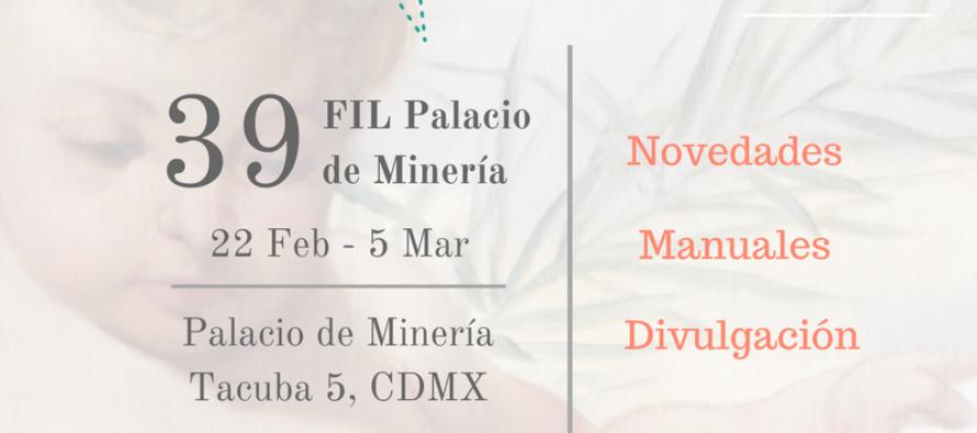 39 Feria Internacional del Libro Palacio de Minería