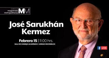 Conferencias Magistrales Metropolitanas: José Sarukhán Kermez