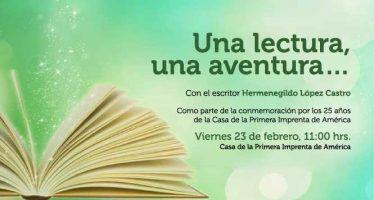 Una lectura, una aventura…