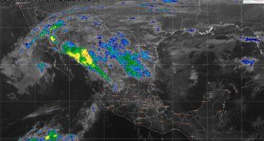 Lluvias fuertes en Oaxaca, sierra de Veracruz, norte de Puebla y Chiapas; aguanieve en sierras de Durango y Chihuahua