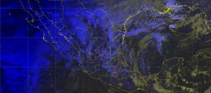Se presentarán temperaturas mínimas inferiores a -5 grados Celsius en sierras de Chihuahua y Durango