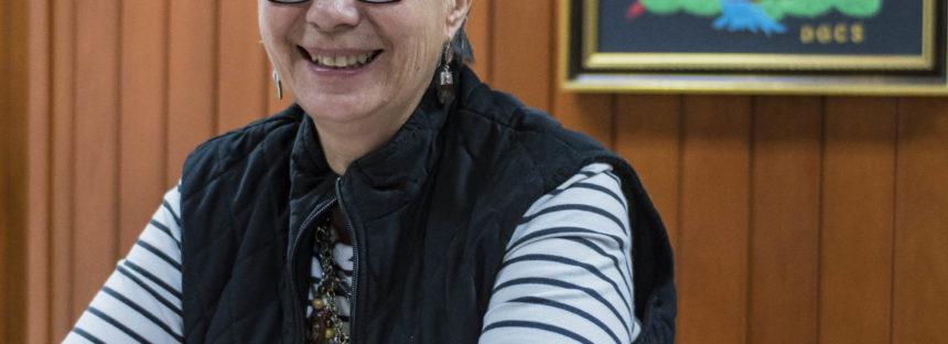 La Dra. Elena Centeno García, es la primera mujer al frente de la Sociedad Geológica Mexicana