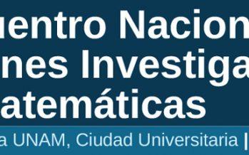 Segundo Encuentro Nacional de Jóvenes Investigadores en Matemáticas