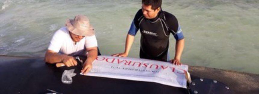 Clausuran el proyecto Restauración de la Línea de Costa Punta Beté en Quintana Roo