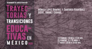 Seminario en la UNAM: Trayectorias y transiciones educativas