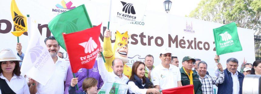 Gobierno de Michoacán se suma a acciones a favor del medio ambiente