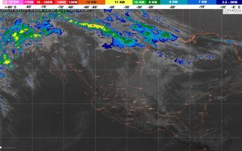 Durante la mañana y la noche de hoy se prevén temperaturas bajas en el noreste, el oriente y el centro de México