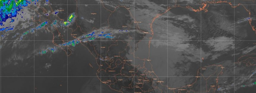 Continúa el evento de Norte con rachas mayores a 60 km/h en la costa sur de Veracruz, el Istmo y el Golfo de Tehuantepec