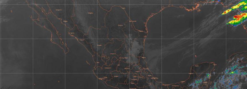 Se prevén lluvias muy fuertes en el oriente de Puebla, el norte y el centro de Veracruz y el norte de Oaxaca