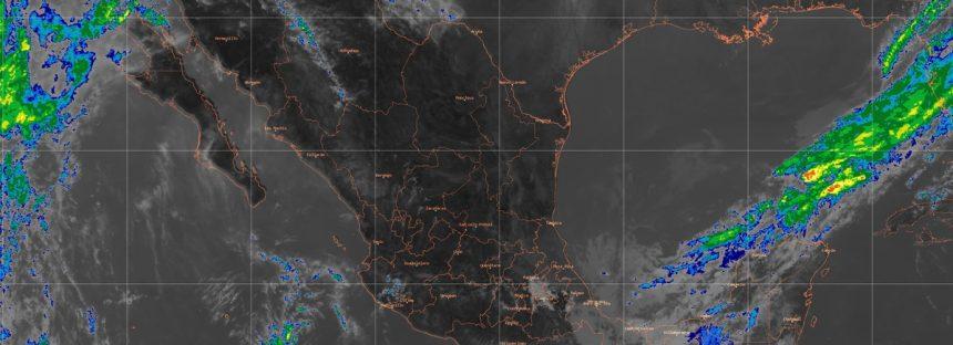 Para las siguientes horas se prevén lluvias muy fuertes en Veracruz y Chiapas
