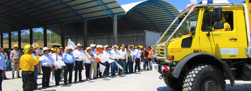 Da inicio la campaña estatal de protección contra incendios forestales 2018
