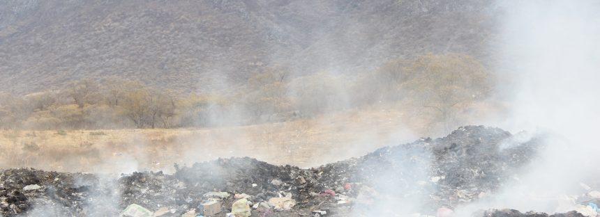Atienden disposición inadecuada de residuos en Huetamo