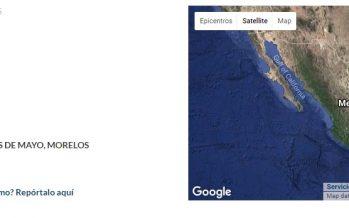 Dos sismos en Morelos en las últimas horas