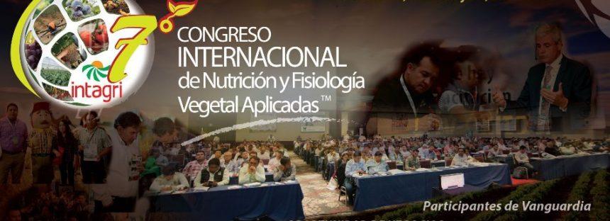 Séptimo congreso internacional de nutrición y fisiología vegetal aplicadas
