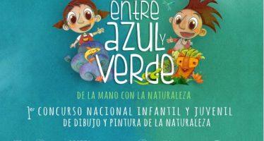 1er Concurso Nacional Infantil y Juvenil de Dibujo y Pintura de la Naturaleza: Entre azul y verde, de la mano con la naturaleza