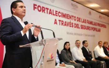 Michoacán, ejemplo nacional en materia de salud: Antonio Chemor
