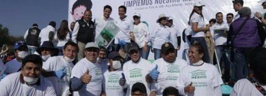 Bajo la acción, Limpiemos Nuestro México, se han en 8 años más de 240 mil toneladas de basura