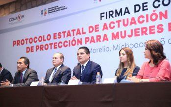 Que Michoacán sea un estado con igualdad entre mujeres y hombres: Silvano Aureoles