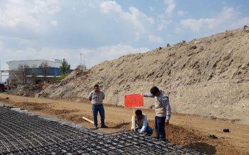 Clausura la ProAm construcción de un estacionamiento de la papelera Kimberly Clark en ANP La Mintzita