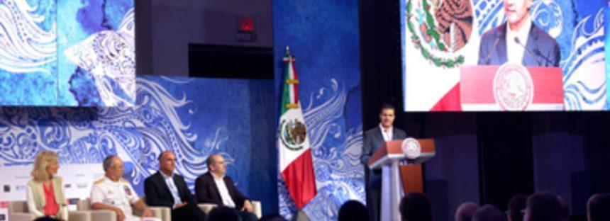Es urgente la protección de océanos y mares: Enrique Peña Nieto en la Cumbre Mundial del Océano 2018