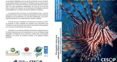 Presentan libro de la Conabio: Principales retos que enfrenta México ante las especies exóticas invasoras