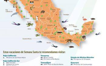 Áreas naturales protegidas. Sitios para conocer y disfrutar
