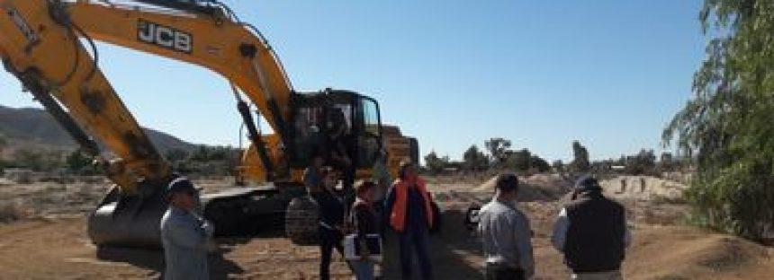 Detectan destrucción de vegetación de galería en el arroyo Guadalupe de Ensenada