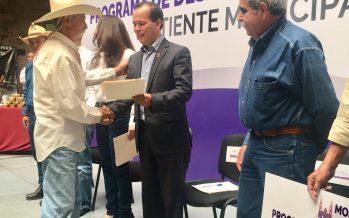 Incentiva Gobierno del Estado 61 proyectos del campo de Morelia